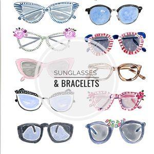 Accessories - Sunglasses & Bracelets